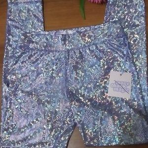 "NWT girls ""More Than Magic"" sparkling leggings"